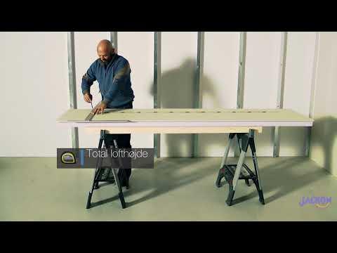 Jackofoam varmevæg monteringsvejledning for effektiv efterisolering