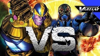 Darkseid VS Thanos: Epic Battle!