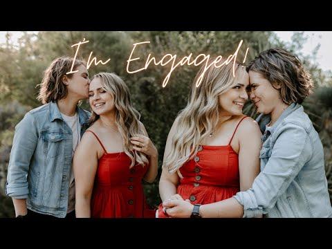 I'm Engaged!!! Proposal & Relationship Story Time! – KayleyMelissa