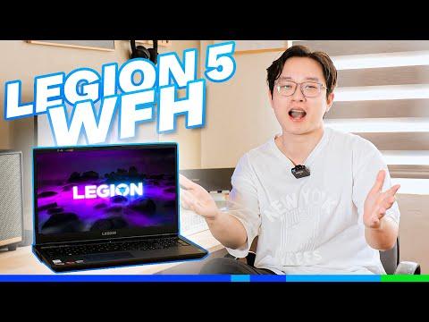 Lenovo Legion 5: Laptop Gaming đa di năng mùa WFH!