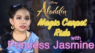"Aladdin 2019 Trailer Magic Carpet Ride | Ava Dazzle as Princess Jasmine | ""Do you trust me?"""