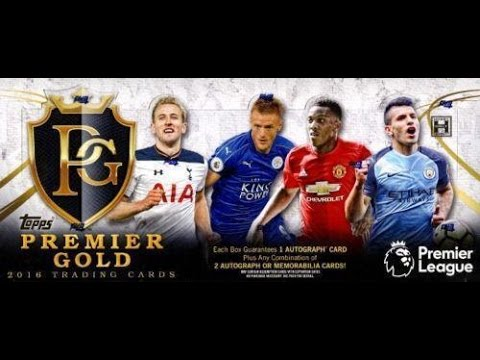 Box Busters: 2016-17 Topps Premier Gold Soccer