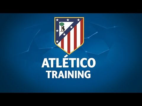 Atlético Training Session