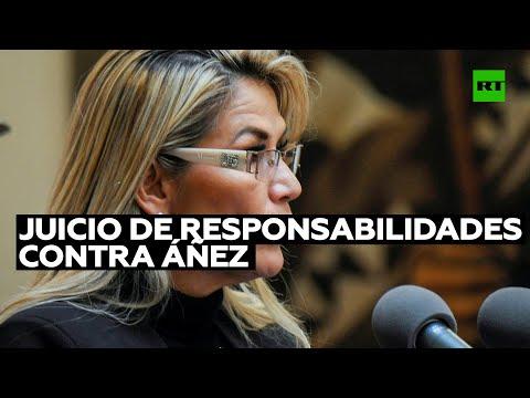 Cámara de Diputados de Bolivia evalúa solicitud de juicio de responsabilidades contra Áñez