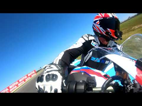 A lap of Phillip Island with Simon Crafar and GoPro?