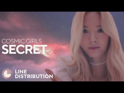 COSMIC GIRLS - Secret (Line Distribution)