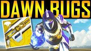 Destiny 2 - IMPORTANT UPDATE! DAWN BUGS!  Exotic Fail! Loot Fix! New Seal!