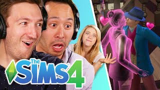 Ryan & Shane Seduce A Ghost In The Sims 4