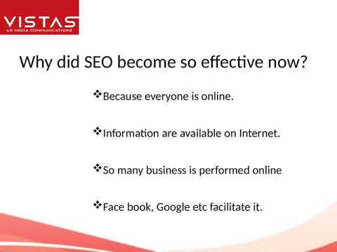 SEO Company In Bangalore-Vista Ad Media Pvt Ltd