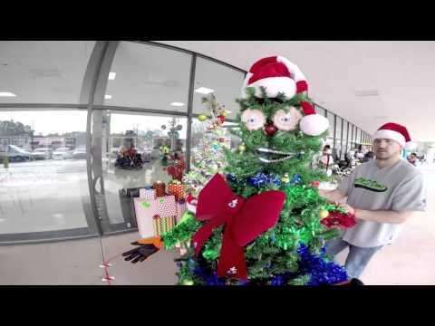 Speedy the robotree   AMS Vans Christmas