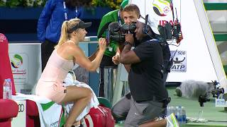 Highlights: WTA SFs - Svitolina d. Kerber