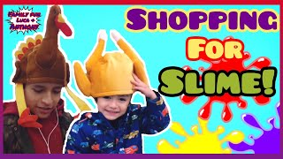 SHOPPING AT TARGET FOR SLIME!! | Funny Kids |