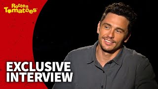 UNCUT The Disaster Artist Interview - James Franco Got 99.9% Approval from Tommy Wiseau