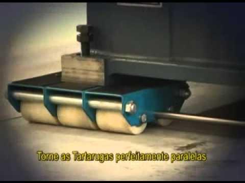 TARTARUGA PARA MOVIMENTAÇÃO DE CARGA 24 TONELADAS T24100 BOVENAU - Vídeo explicativo