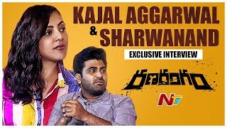 Sharwanand And Kajal Aggarwal Interview- Ranarangam Movie..