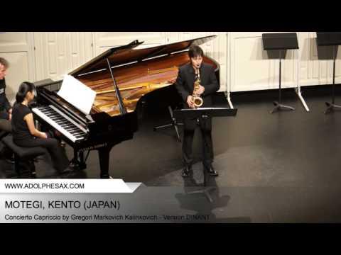 Dinant 2014 - Motegi, Kento - Concerto Capriccio by Gregori Markovich Kalinkovich