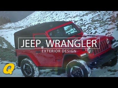 2018 Jeep Wrangler JL Exterior Design Explained