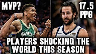 5 NBA Players Shocking The World This Season | Ricky Rubio Can Shoot Threes Now?