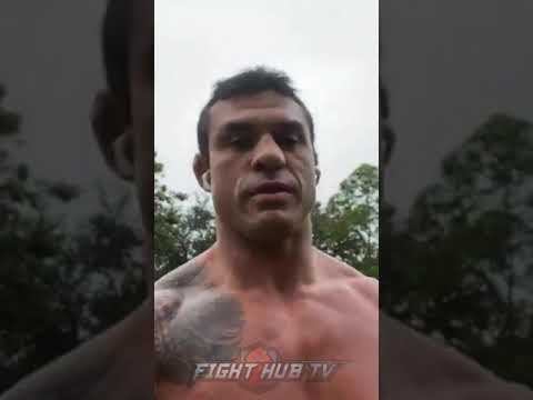 """VITOR BELFORT """"OSCAR LETS SEE IF YOU HAVE BALLS...IF YOURE A REAL MEXICAN.."""""""