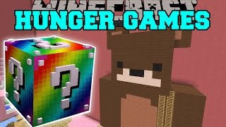 /minecraft baby girls room hunger games lucky block mod modded mini game