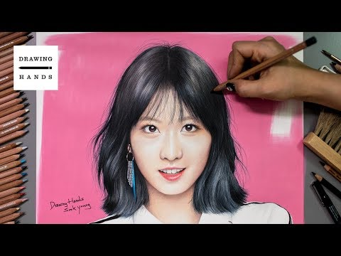 Speed Drawing Twice - Momo [Drawing Hands]
