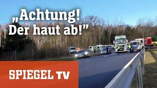"""""""Achtung, der haut ab!"""": Polizeieinsatz an der deutsch-polnischen Grenze"""