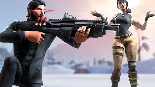 STEALING every kill from this season 3 fortnite player with 200 wins... (toxic)
