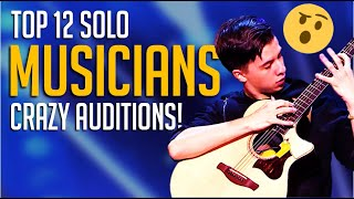 Top 12 BEST Solo Musicians on Got Talent Worldwide! UN-BE-LIEVABLE!