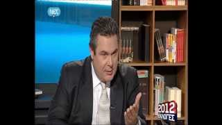 Πάνος Καμμένος @ ΟΙ ΠΟΛΙΤΙΚΟΙ ΑΡΧΗΓΟΙ ΣΤΗ ΝΕΤ 24-4-2012