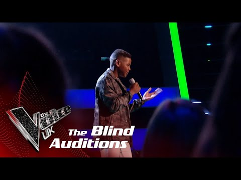 Donel Performs 'Cold Water': Blind Auditions | The Voice UK 2018