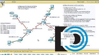 Configure IPv6 and RIPng in Packet Tracer - Part1