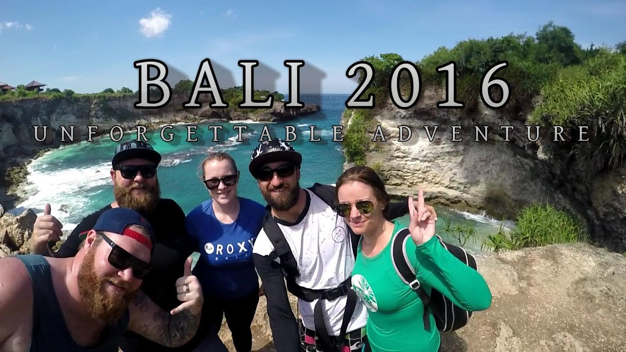 Bali 2016 - Unforgettable Adventure GoPro