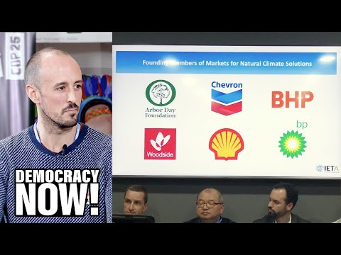 Why Are Some of Spain's Biggest Polluters Sponsoring U.N. Climate Summit?