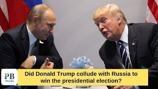 Dem has evidence Trump was 'Bought Out' by Putin and is getting ready to expose him