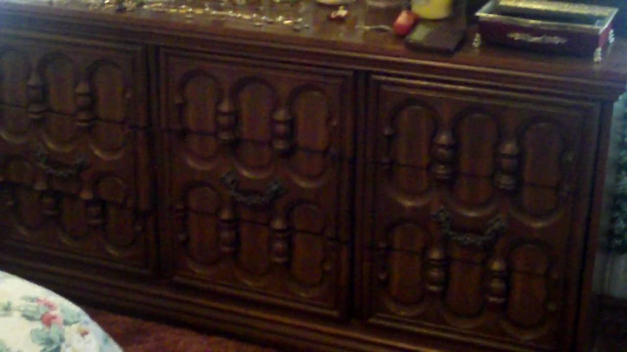 1970 S Broyhill Bedroom Furniture Youtube