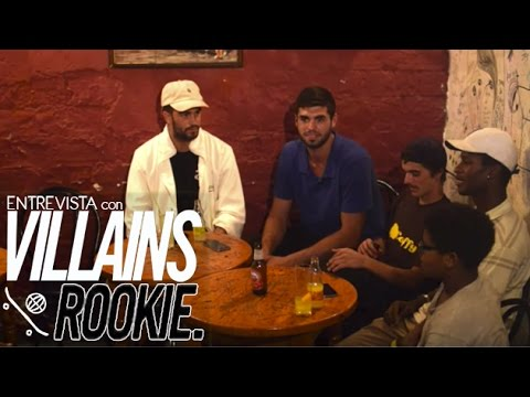 Entrevista con los Rookies de VILLAINS Conspiracy