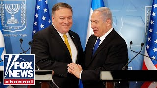 Pompeo, Netanyahu hold a joint press conference
