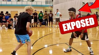Twitter Trash Talker EXPOSED! 1v1 Basketball!