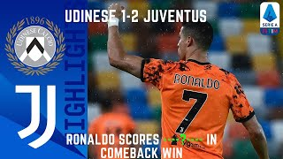 Udinese 1-2 Juventus | Ronaldo Scores Double in Comeback Win! | Serie A TIM! Live Counts