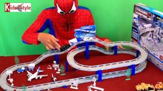 Kids Style Siêu nhân và mô hình sân bay