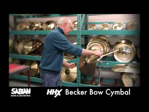 HHX Becker Bow Cymbal Demonstration