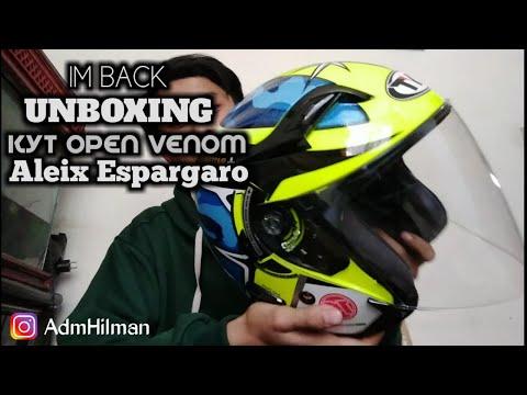 """IM BACK"" UNBOXING KYT OPEN VENOM ALEIX ESPARGARO"