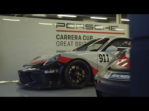 Porsche Carrera Cup GB - 2018 / 2019 Junior announced
