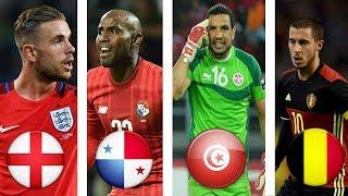 Belgium/England/Tunisia/Panama I Group G (Trailer) I World Cup Russia 2018