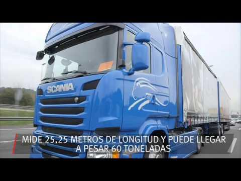 Seat y Grupo Sesé hacen circular por primera vez en España un megatruck
