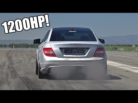 1200HP GAD Motors Mercedes-Benz C63 AMG – FASTEST in EUROPE!