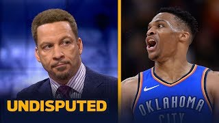 Chris Broussard addresses Russell Westbrook's verbal altercation with Jazz fans | NBA | UNDISPUTED