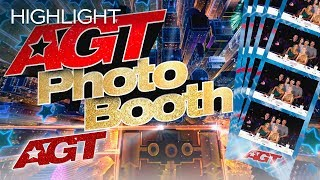 LOL! The AGT Judges And Host PRANK Unsuspecting AGT Fans In A Photo Booth - America's Got Talent