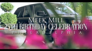 Meek Mill 25th Birthday Celebration in Philadelphia (Gets 2012 Range Rover from Rick Ross)