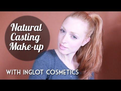 Natural Casting Make-up Tutorial for Models